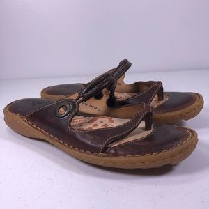 Born Slip On Thong Sandals